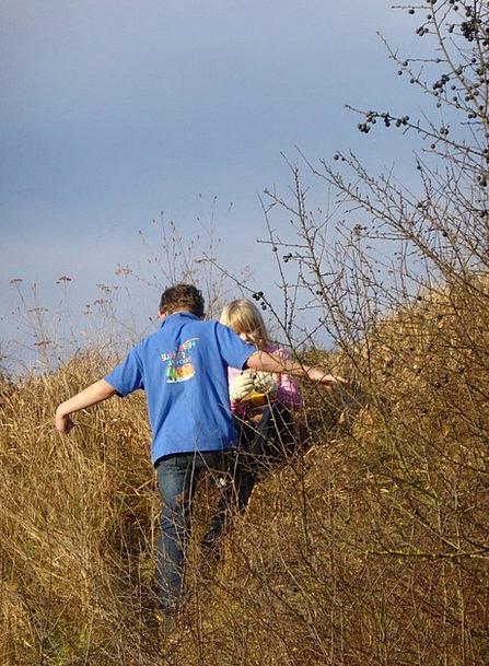 Children Broods Landscapes Production Nature Natur