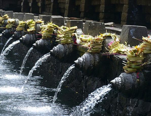 Water Aquatic Cascade Bali Fountain