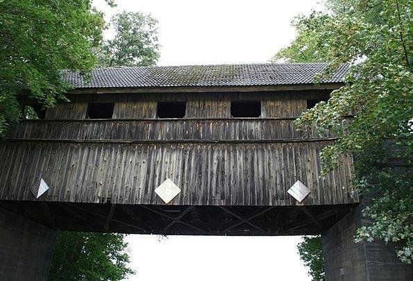 Müritz Historically Factually Wooden Bridge