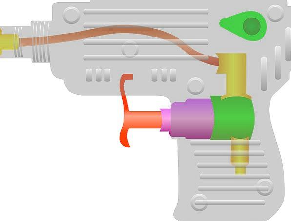Squirt Gun Doll Play Production Toy Shoot Plastic