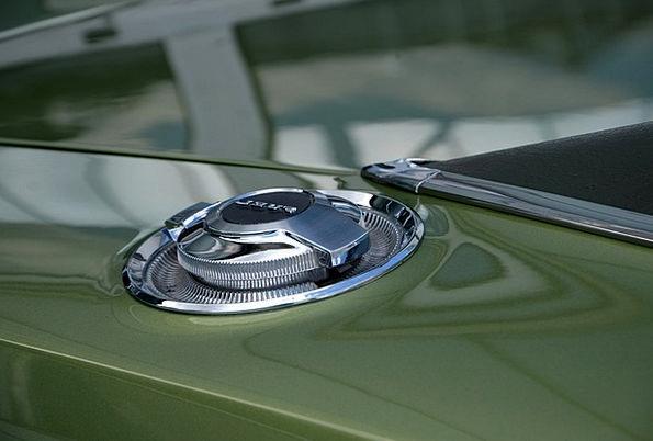 Fuel Tank Cap Car Shiny Glossy Auto Metal Metallic