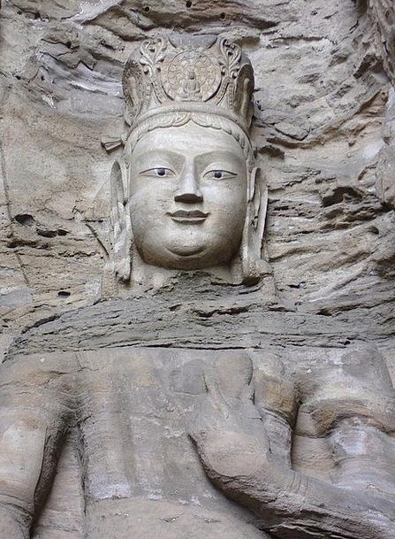 Datong Porcelain Buddha China Statue Figurine Yung
