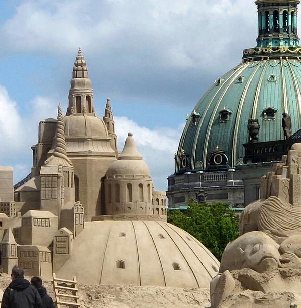 Baltic Sea Copenhagen Denmark Dom Sand Art