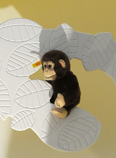 Monkey Ape Steiff Animals Äffchen Soft Steiff Tier