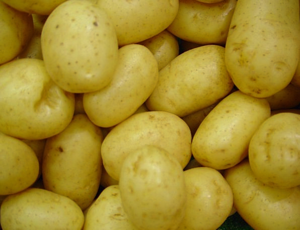 Potatoes Drink Food Raw Vegetables Root Uncooked I