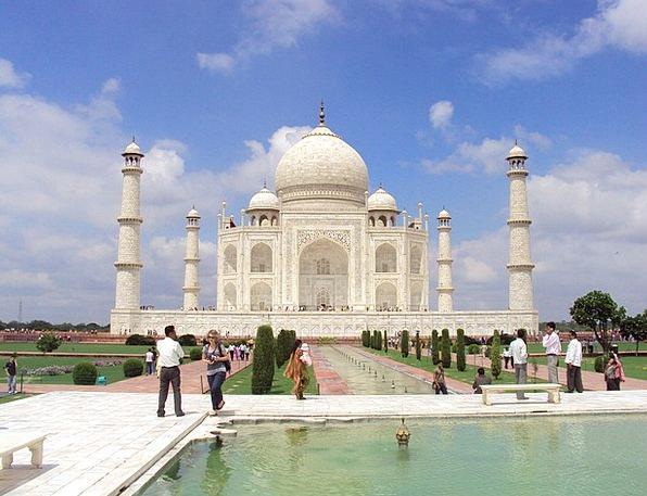 Taj Mahal Tomb Agra Mausoleum Uttar Pradesh Grave