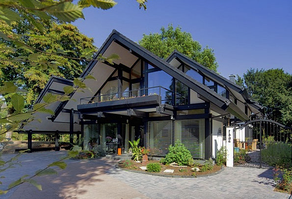Wood Skeleton Buildings Architecture Timber Framed