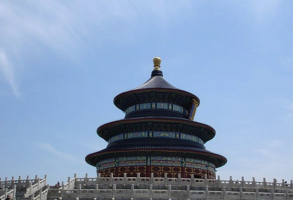 Beijing China Porcelain Temple Of Heaven
