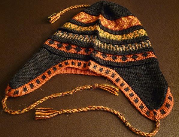Alpaca Lid Warm Sincere Cap Headwear Cord Fabric S
