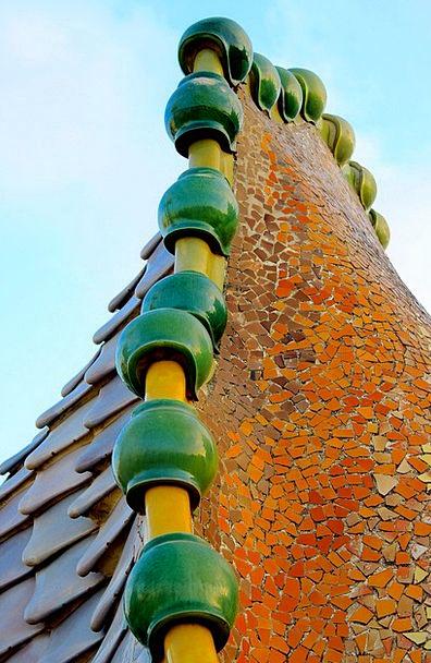 Gaudí Buildings Medley Architecture Casa Batlo Mos