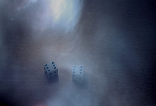 Smoke Burn Dice Play Production Cube Magic Cube Pa