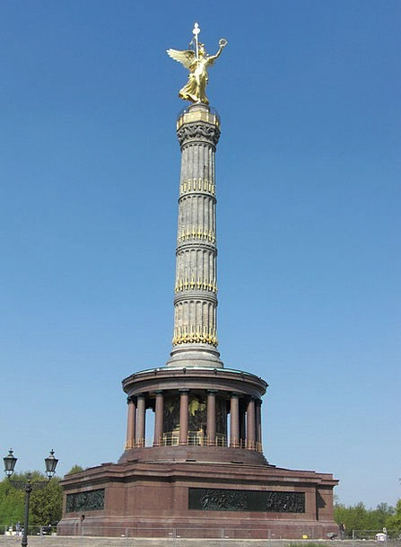 Siegessäule Monuments Places Landmark Milestone Be