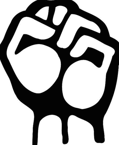 Right Correct Pointer Fist Fistful Hand Raised Ele
