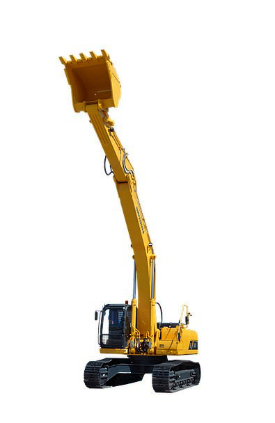 Excavator Digger Buildings Gear Architecture Const