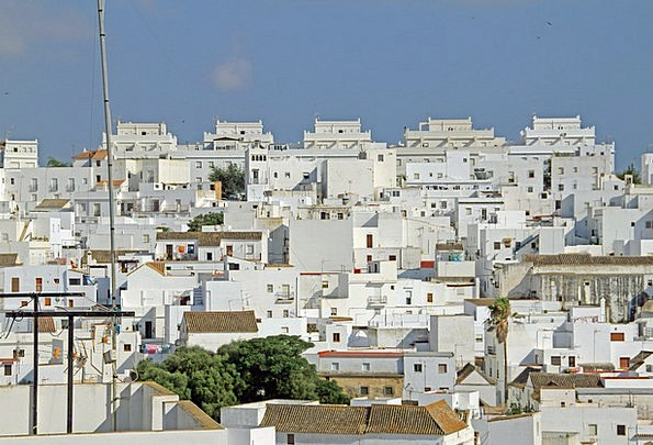 Andalusia White Snowy Spain White Villages Homes F