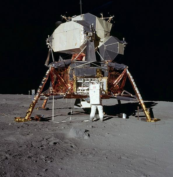 Moon Landing Buzz Aldrin Apollo 11 Science Lunar L