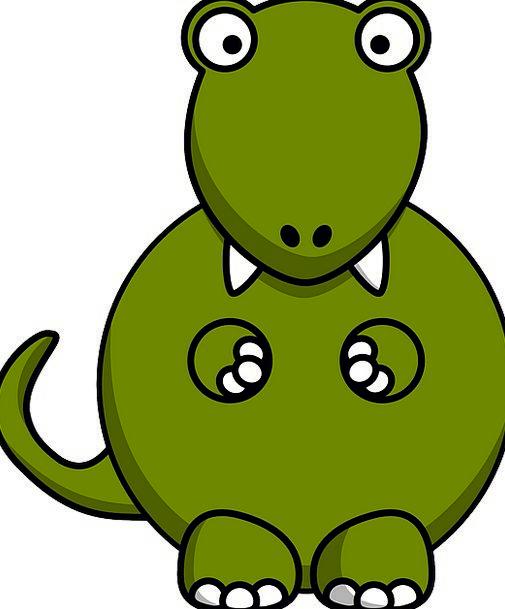 Dinosaur Relic Fat Overweight Tyrannosaurus Carniv