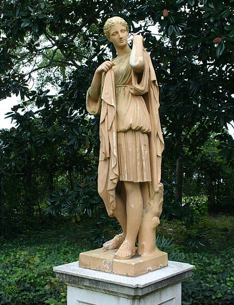 Garden Statue Fashion Statue Beauty Terracotta Soi