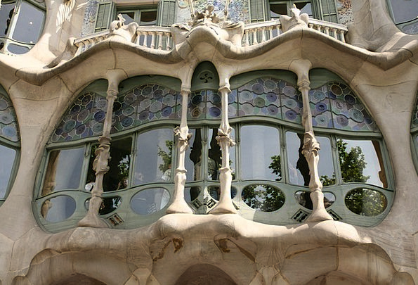 Baroque Ornate Buildings Gap Architecture Stained