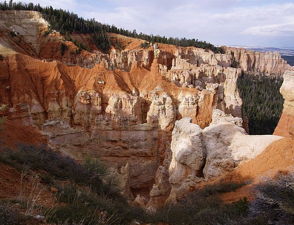 Bryce Canyon Landscapes Nature Usa Utah Erosion Co