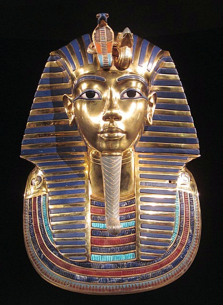 Tutankhamun Ruler Gold Mask Pharaoh Nile King Mona