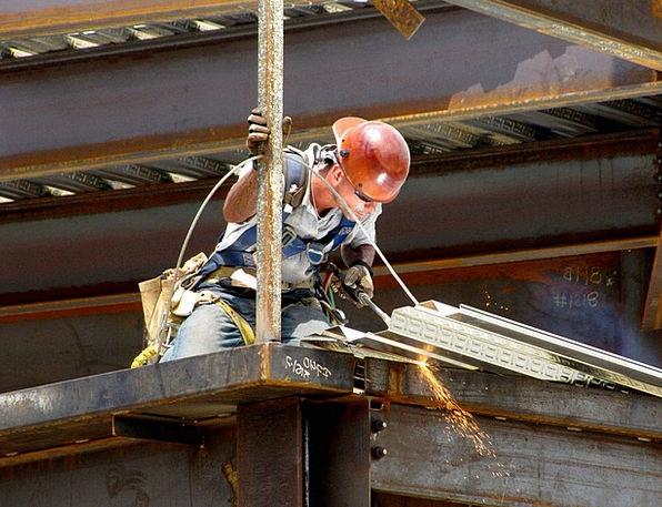 Man Gentleman Fusing Steel Strengthen Welding Torc