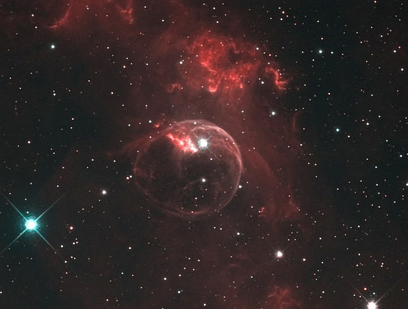 Ngc 7635 Emission Nebula Bubble Nebula Astronautic
