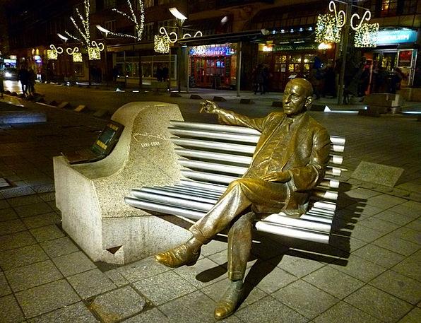 Budapest Statue Figurine Kálmánimre Park Common Me