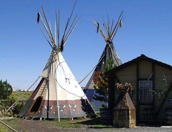 Indian Innate Ti Pi Native Tent Shelter Arizona Us