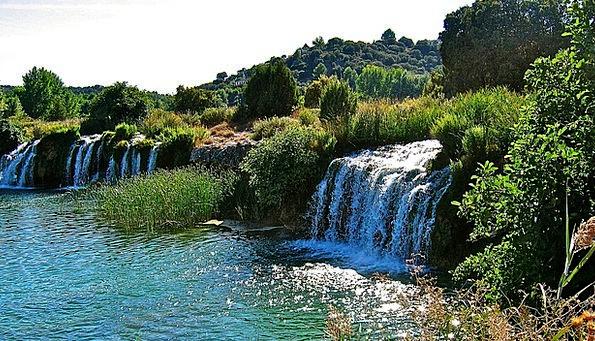 Lagoons Of Ruidera Landscapes Aquatic Nature Water