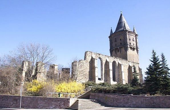 Merseburg Devastation Church Ecclesiastical Ruin