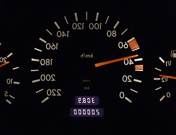 Speedo Traffic Transportation Mileage Distance Spe