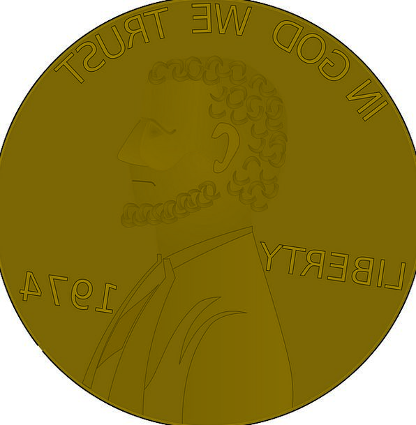 Penny Finance Business Brown Chocolate Coin Change