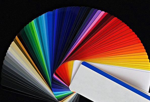 Color Fan Color Hue Color Picker Fanned Out Color