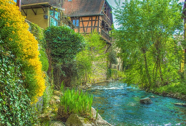 Kaysersberg France Alsace Photo Filter Filter Hdr