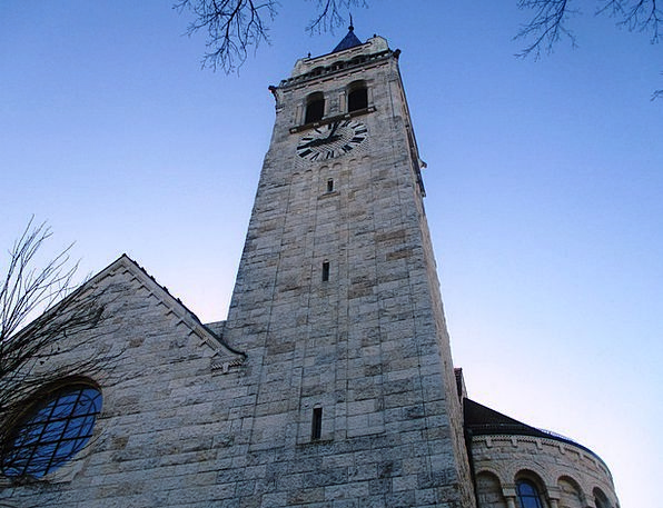 Church Ecclesiastical Tower Architecture Building