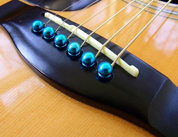 Acoustic Audio Bridge Bond Guitar Strings Cords Cl