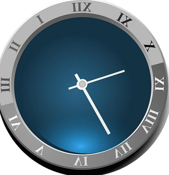 Clock Timepiece Time Period Roman Numerals Face Ro