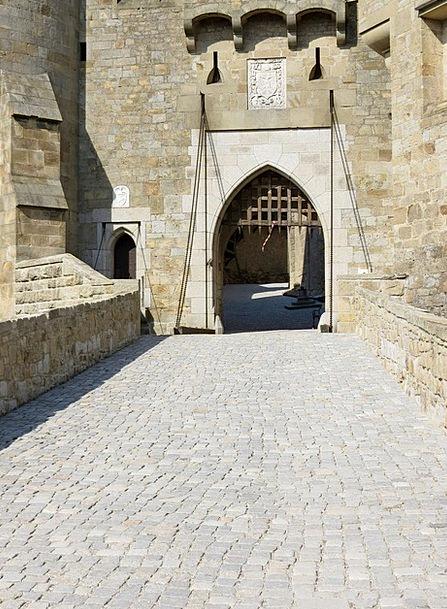 Gate Buildings Arrival Architecture Castle Fortres