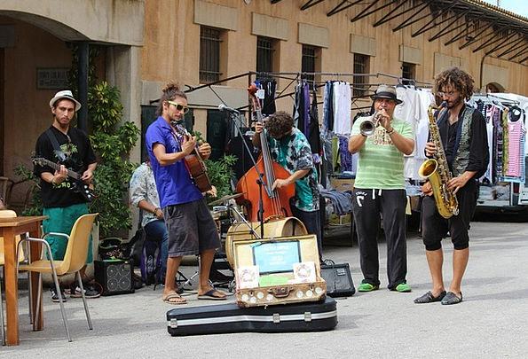 Street Musikanten Musicians Choirs Usiker Live Mus