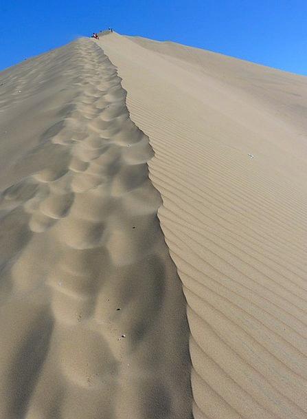 Dune Bank Reward Dry Thirsty Desert Hot Warm Nazca