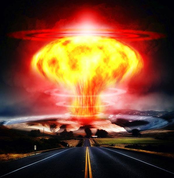 Nuclear Explosion Atomic Bomb Mushroom Cloud World