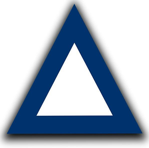 Triangle Threesome Geometric Shape Three Sided Pyr