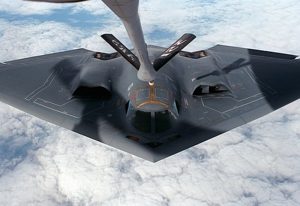 Aircraft Airplane Stealth Bomber Delta Wing Radar