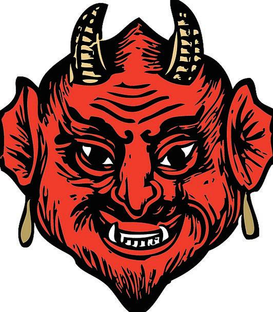Head Skull Expression Devil Fiend Face Fear Horns