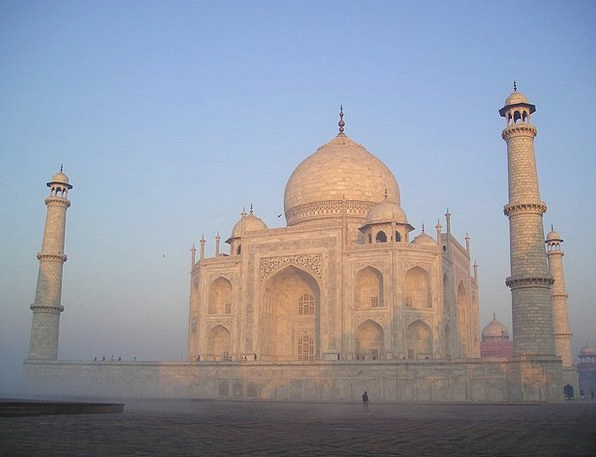 India Mahal Taj Agra Temple Tomb Sunrise Shrine Gr