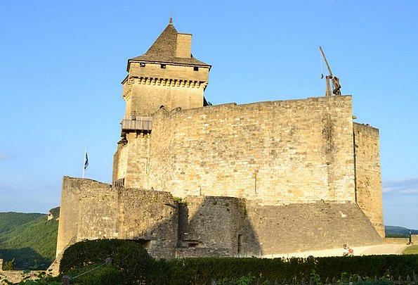 Castle Fortress Hurl Castelnaud Catapult Medieval