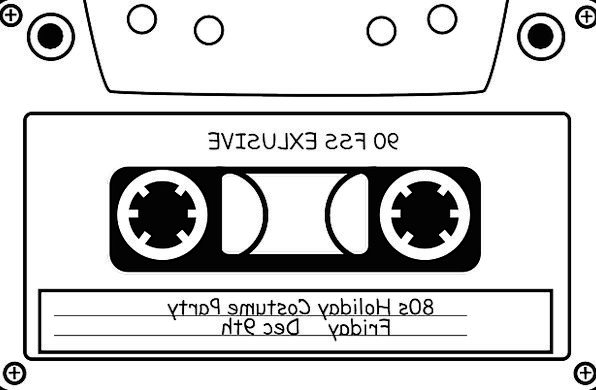 Tape Adhesive tape Complete Audio Cassette Sound M