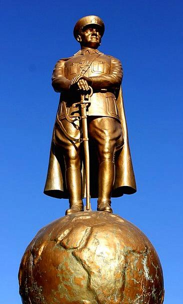 Atatürk Statuaries Bust Broken Sculptures On Happe