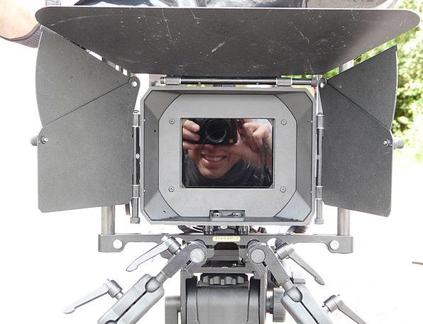 Film Camera Recording Footage Full Format Camera I